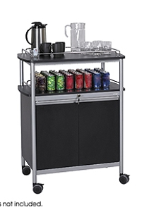 Mobile Beverage Cart on Designer Page