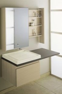 K-3032 - Purist® natural lavastone countertop with plumbing cut-out on left or right on Designer Page