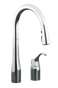 K-647 - Simplice™ pull-down kitchen sink faucet on Designer Page