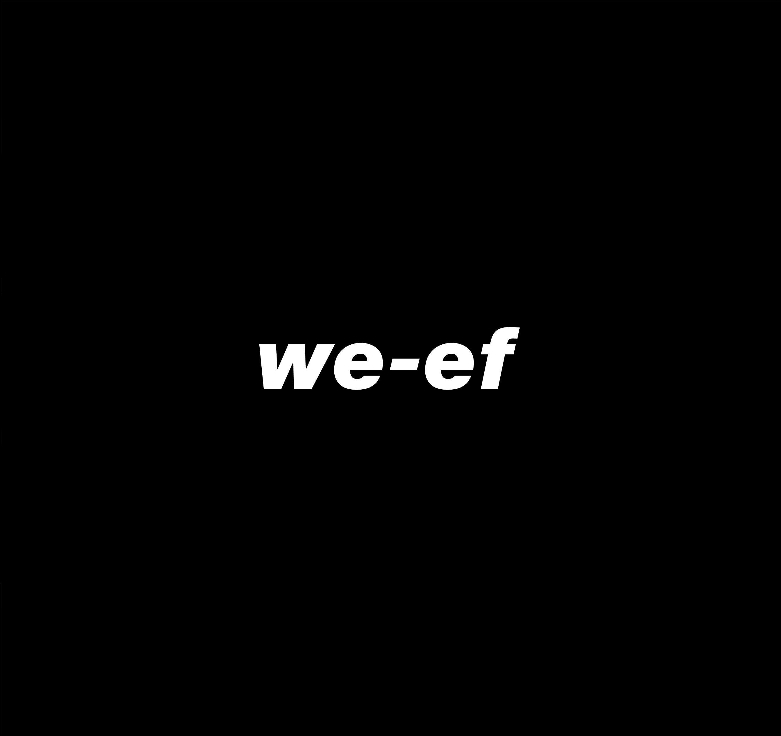 We ef logo