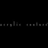 Acrylic couture logo 20 sq160