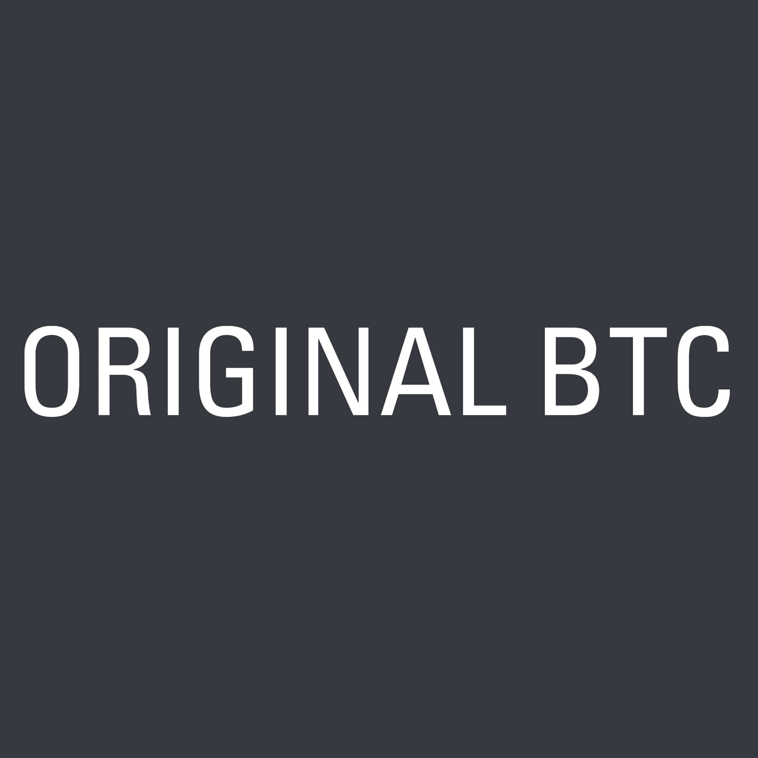 Original btc social media logo