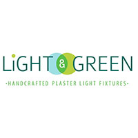 Light and green logo