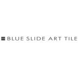 Blueslidearttile sq160